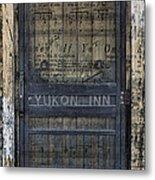 Yukon Inn Paradise Michigan Metal Print