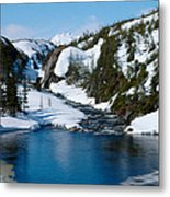 Yukon View Metal Print