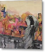 Z And The City Metal Print