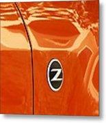Z Emblem P Metal Print