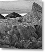 Zabraski Point Death Valley Img 4359 Metal Print