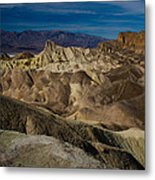 Zabriskie Point 2 Metal Print