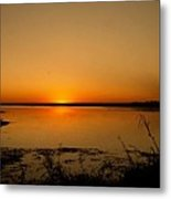 Zambian Sunrise Metal Print