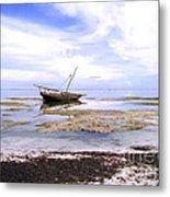 Zanzibar Boat 22 Metal Print