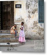 Zanzibar Childrens 05 Metal Print