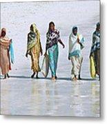 Zanzibar Women 02 Metal Print
