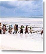 Zanzibar Women 28 Metal Print