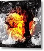 Zayin Metal Print
