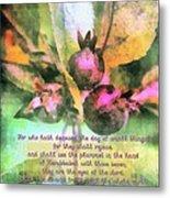 Zechariah 4 10 Metal Print