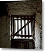 Zee Stable Door Metal Print