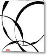 Zen Circles 2 Metal Print