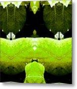 Zen Leaves 2 Metal Print