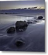 Zen Sunrise In Rye New Hampshire Metal Print