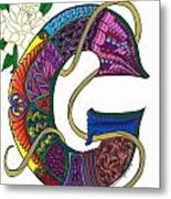 Grand Gardenia Metal Print