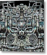 Zengine V1 Metal Print by Pixel Chemist
