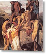 Zenobia Found By Shepherds Metal Print