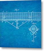 Zeppelin Navigable Balloon Patent Art 1899 Blueprint Metal Print