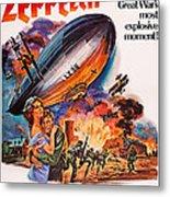 Zeppelin, Us Poster Art, Front Metal Print