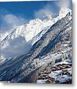 Zermatt Mountains Metal Print by Brian Jannsen