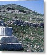 Zeus Lykaios Temple Metal Print