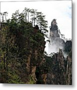 Zhangjiajie National Forest Park In China Metal Print