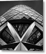 Zigzag (the  Gherkin) Metal Print