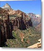 Zion Canyon Overlook Metal Print