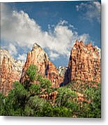 Zion Court Of The Patriarchs Metal Print
