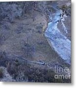 Zion National Park Reflection 2 Metal Print