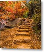 Zion Staircase Metal Print