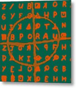 Zodiac Killer Code And Sign 20130213p28 Metal Print