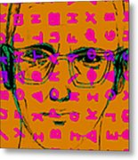 Zodiac Killer With Code And Sign 20130213m80 Metal Print