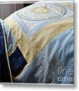 Zodiac Patchwork Quilt Metal Print by Barbara Griffin