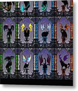 Zodiacatabats Metal Print