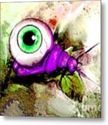 Zombie Insect Metal Print