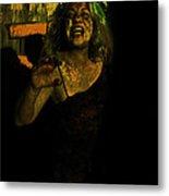 Zombie Night Metal Print