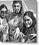 Zombie Run Nola 19 Metal Print