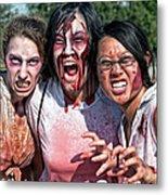 Zombie Run Nola 24 Metal Print