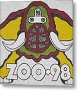 98 Kzew Radio Logo Metal Print
