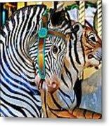 Zoo Animals 2 Metal Print