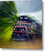 Zooming Through Ontario Metal Print