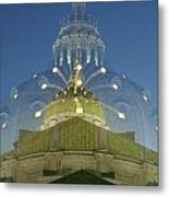 Zoomy Dome   # Metal Print