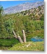 Zrmanja River And Velebit Mountain Metal Print