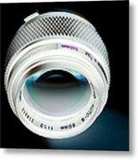 Zuiko 50mm F1.2 Metal Print