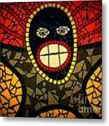 Zulu Man In Lomo Metal Print