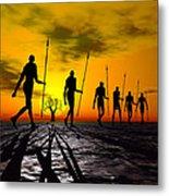 Zulu Warrior Trek Metal Print