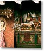 Zuthrul Phug Monastery Milarepas Cave Metal Print