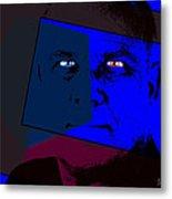 Zweistein - The Brain Man Metal Print