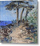 3 By The Sea Metal Print by Michel Croteau