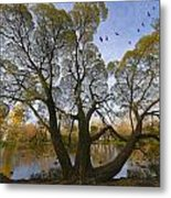 A Day Of October Metal Print